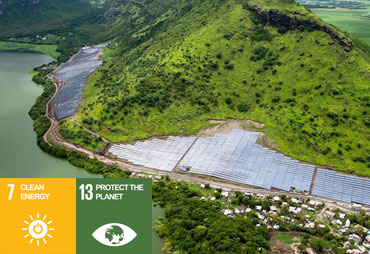 Solar project in Mauritius